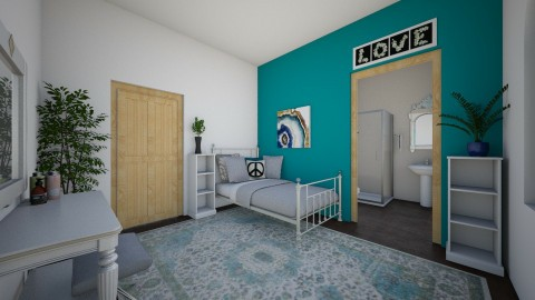 hippie bedroom - Bedroom  - by chloebear
