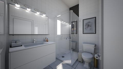 WC da casa  - Bathroom - by ElianeInteriors