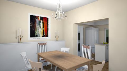 Family_kitchen_dini_v06_8 - Living room - by natajax