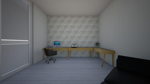 Mini Office_Guest house - Minimal - Office - by Ahmedb