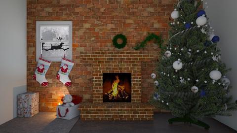 crismus bonus - Living room  - by rubbaduk_