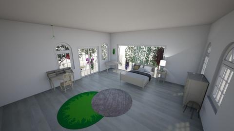 green - Bedroom  - by malinkna