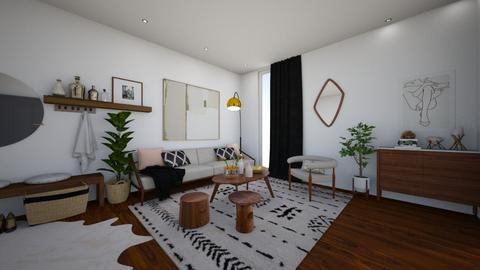 Small Living - Living room  - by Cara_Nicole