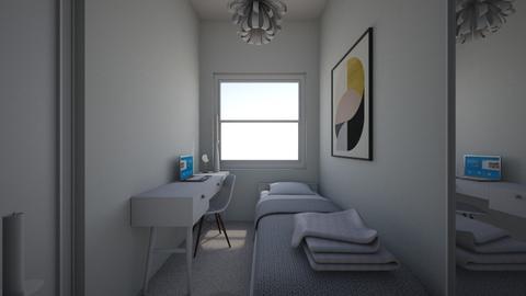 new tiny room  - Bedroom  - by mari92u6