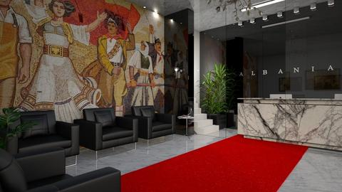 ALBANIA EMBASSY - Office  - by Galstyler