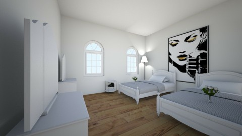 Disneyland set design - Vintage - Bedroom  - by Ladykwolf17