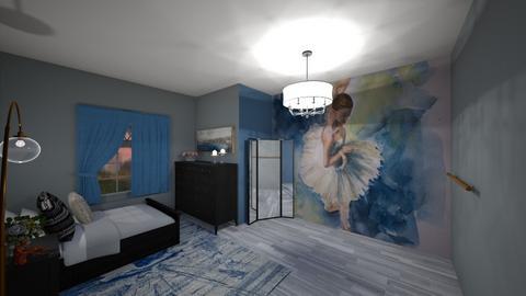 ballet room - Bedroom  - by mandie101