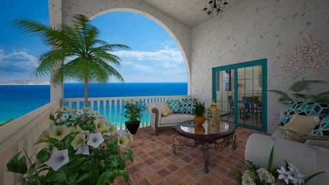 Mediterranean terrace - Garden  - by CCPompey
