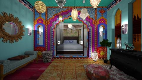 Indian Bedroom Contest - by lusfale