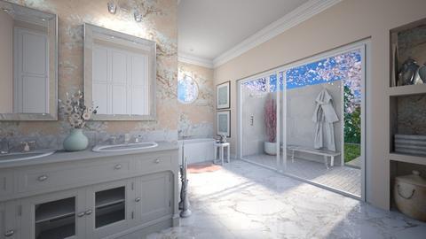 Cherry Blossom Bathroom - Bathroom  - by smunro7
