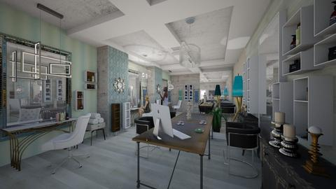 Coiffure _In _Style_Creation_ - Classic - Living room  - by Nikos Tsokos