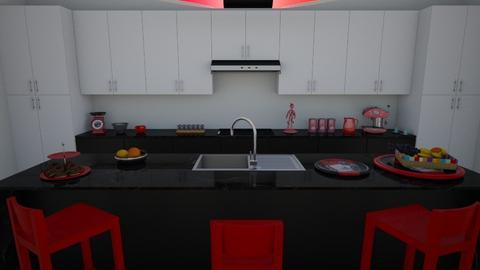 red spice  - Kitchen  - by Karen Priest
