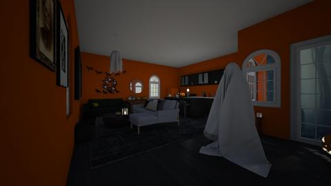 Halloween living - Living room  - by Chayjerad