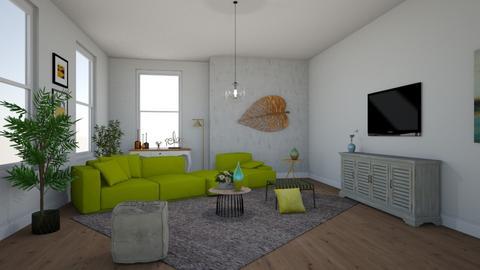 ARTISAN FLOORING template - Living room - by Ancy