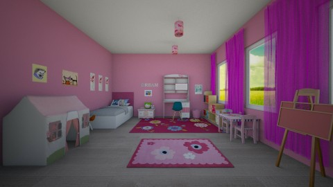 children room - Modern - Kids room  - by Tara T