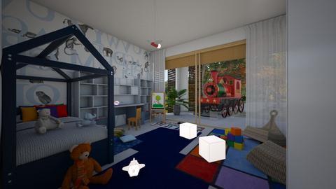 Zen_kids room - Kids room  - by lovasemoke
