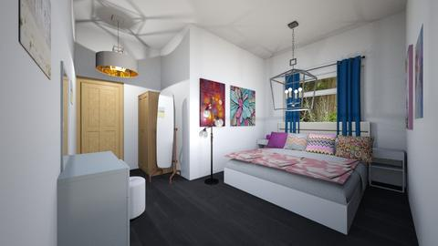 teenage bedroom - Feminine - Bedroom - by the ice magical unicorn