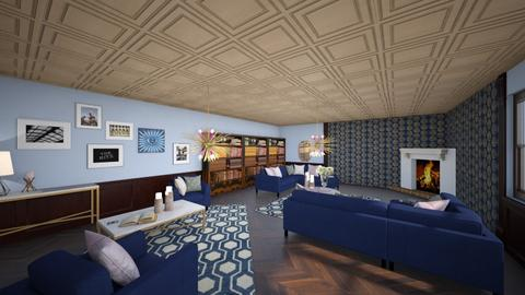 Art Deco Living Room - Living room  - by AmeliaGrangerWeasley