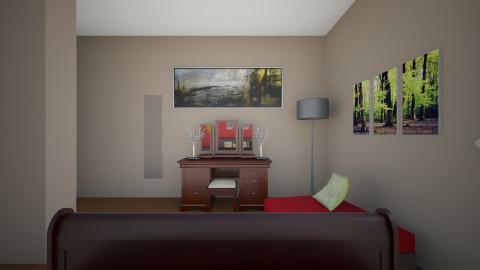 my dream room - Bedroom - by verkam