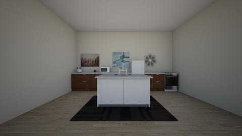 Minimalism Kitche  Allie - Minimal - Kitchen  - by alliemelka