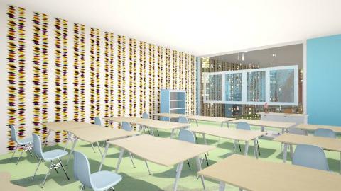 aulas prepa - Eclectic - Office  - by Ilse Mendoza