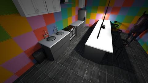 Kitchen 4 school - Kitchen  - by AcidicSmoothies