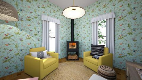 Cozy Corner - Living room  - by myyokums