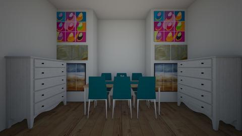 artwork room - Living room  - by myaroommaker