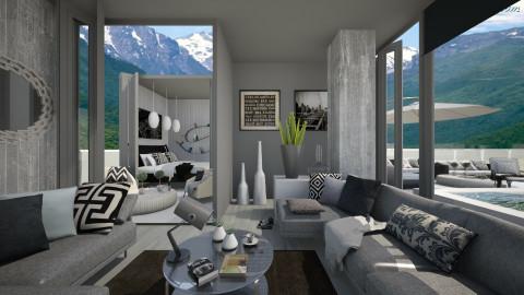 KK1615 - Modern - Living room  - by KK1615