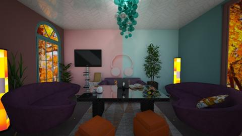BOLD - Living room  - by PAPIdesigns