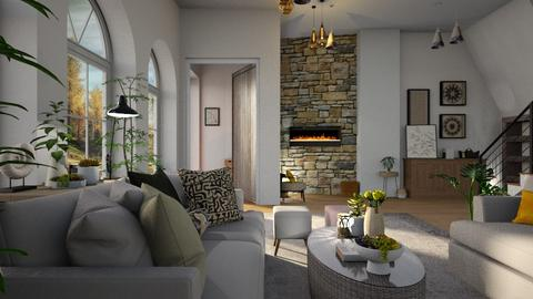 Emory - Living room - by ZuzanaDesign