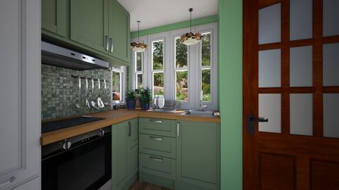 Tiny House Kitchen - Kitchen  - by SammyJPili