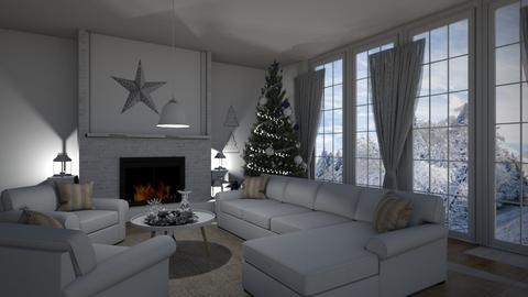 christmas - Living room  - by Anet Aneta Kucharova