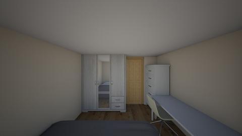 My Bedroom - Modern - Bedroom - by wariyakorn