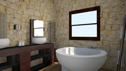 Bathroom - Minimal - Bathroom  - by Lenorek333