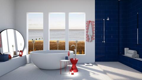 Nautical bath - by Designer1007