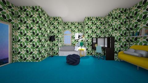 my dream room - Bedroom  - by CW THE HARRY POTTER FAN