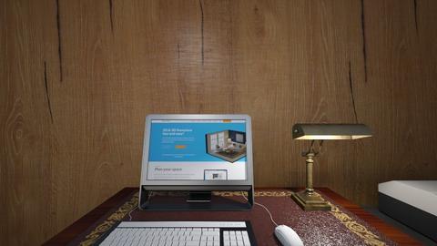 Cabin Desk 02 - Bedroom  - by mspence03
