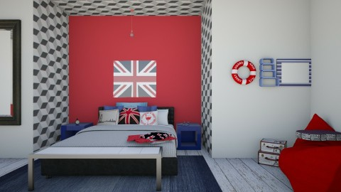Eye of London  - Bedroom  - by Morgan Brueckner