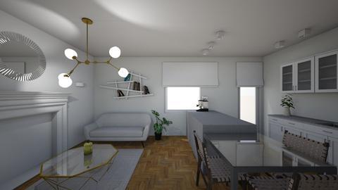 magdykuchnia9_d - Living room  - by agasemrau