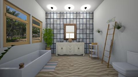 Island Vibe bath - Bathroom  - by cocopip