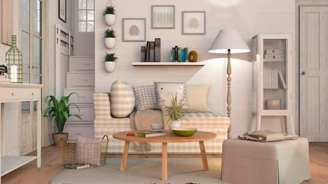 Cozy Living - Eclectic - Living room  - by Sally Simpson