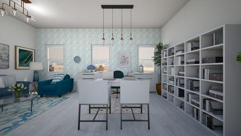 BLUE OFFICE - Office  - by PAULA avila