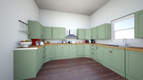 eldest - Country - Kitchen  - by roenjacuff