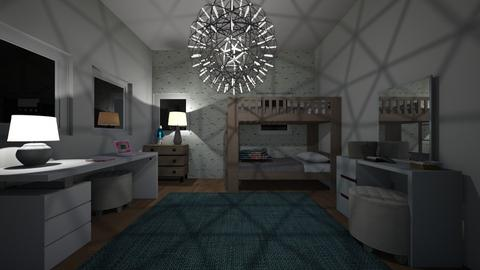 Teen Bedroom - Bedroom  - by Design3690