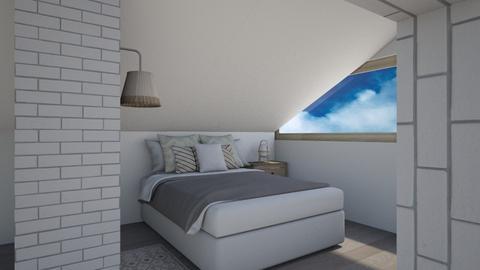 loft bedroom - Bedroom  - by karisahsalim