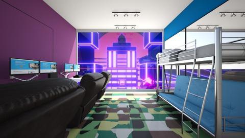 Gamer Online - by Linda50