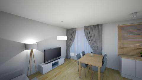 Swiatlo 1b - Living room - by KatarzynaLaszczyk