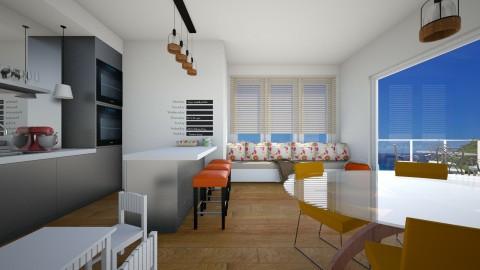 Family kitchen - Kitchen  - by martinabb
