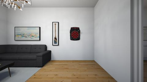 Apt living room_darts - by saratevdoska